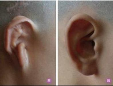 耳朵人儿童抽象画